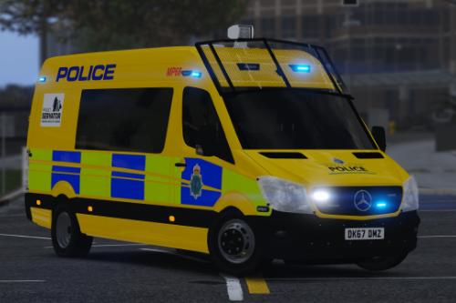 Merseyside Police Mercedes-Benz Sprinter (Public Order)