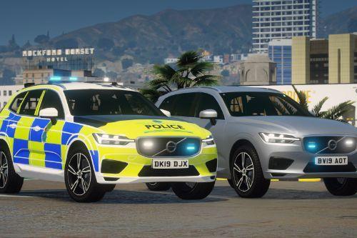 Merseyside Police Volvo XC60 Pack - ANPR Response Car