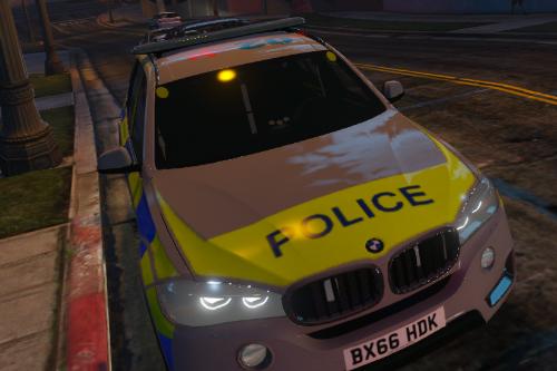 Met Police 2016 BMW X5 Skin
