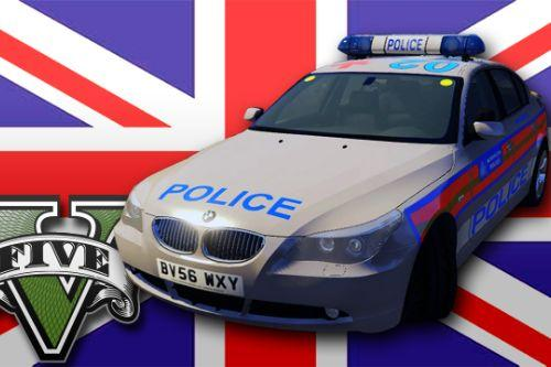 Met Police BMW 525D E60 ARV