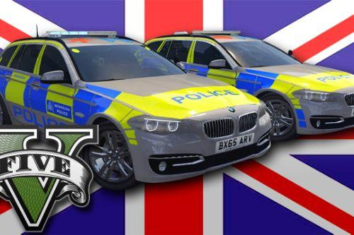 Met Police BMW 525D F11 (Traffic & Armed Response)