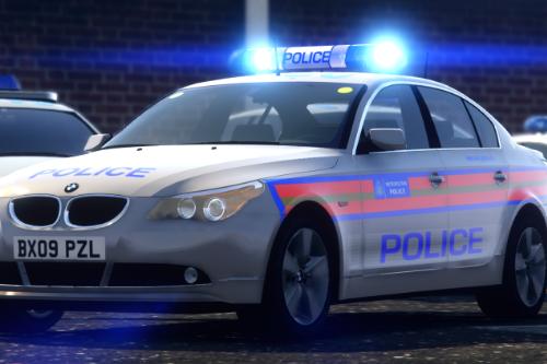 Met Police CO19 E60 | HALOGEN | [ELS/REL]