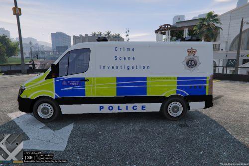 Met police CSI Van