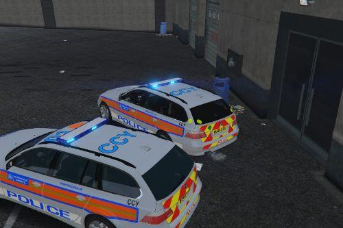 Met Police E61 ARV and Area Car