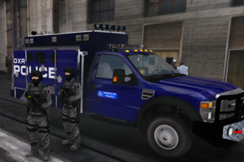 Ford F450/F550 | Met Police Jankel Paintjob