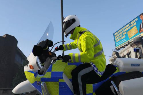Met Police R1150rt Motorbike