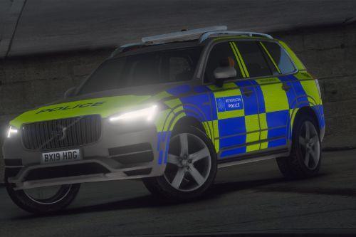 Met Police Volvo XC90 [Replace | ELS]