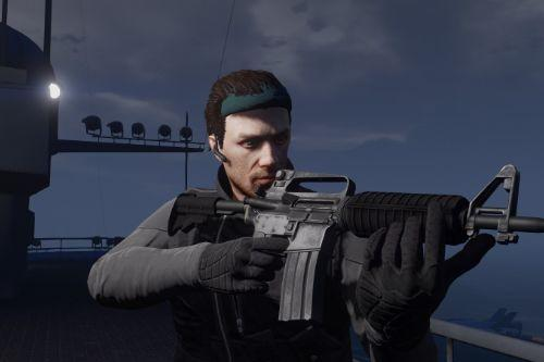 """Metal Gear Solid """"Infinity"""" Bandana for MP character"""