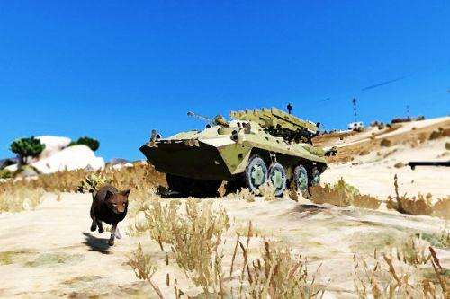 Metal Gear Solid V Phantom Pain ZHUK APC  [Add-on]