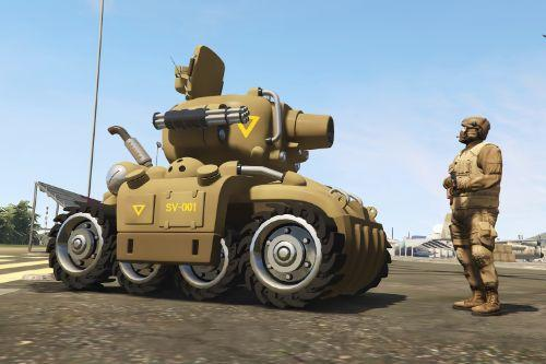 Metal Slug SV-001 [Add-On | Livery]