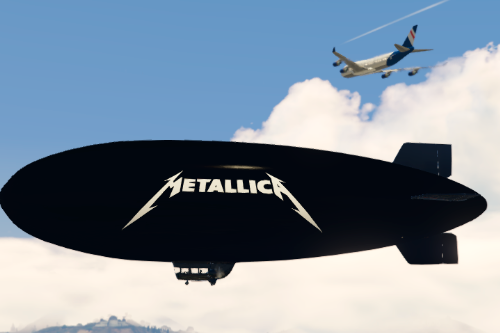 Metallica Blimp
