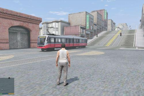 Metro Train Tracks for Las Venturas & San Fierro DLC
