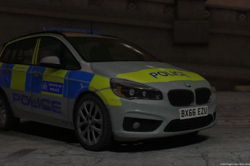 Metropolitan Police 2017 BMW 2 Series Grand Tourer ELS