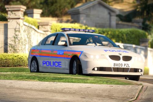 Metropolitan Police BMW E60 [ELS]