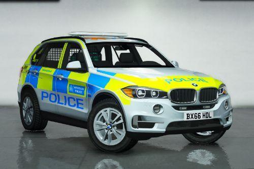 Metropolitan Police BMW X5 F15 ARV [Opening Gun-locker | ELS]