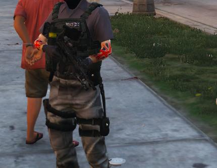 Metropolitan Police British CTSFO (Counter Terrorist Specialist Firearms Officer)