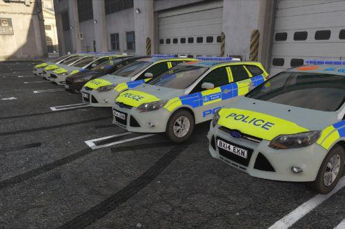 Metropolitan Police Ford Focus Estate Pack [ELS]