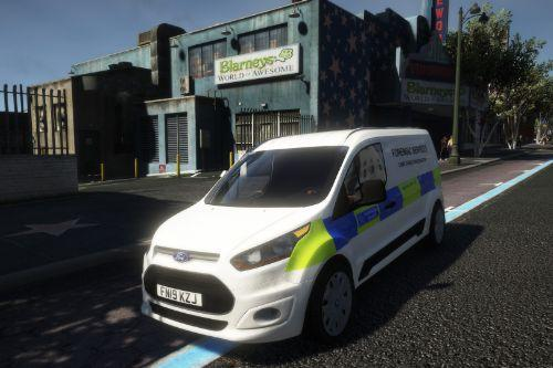 Metropolitan Police Forensic Van