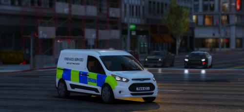 Metropolitan Police Forensics van Ford Connect | British