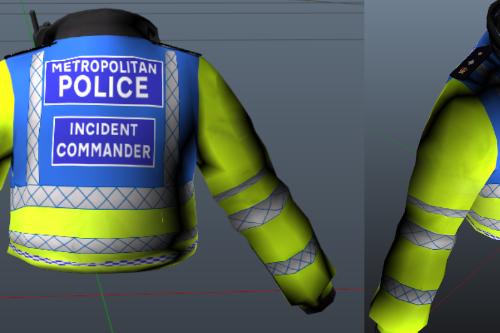Metropolitan Police Incident Commander Skin
