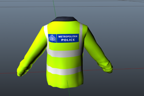 (EUP) Metropolitan Police Jacket