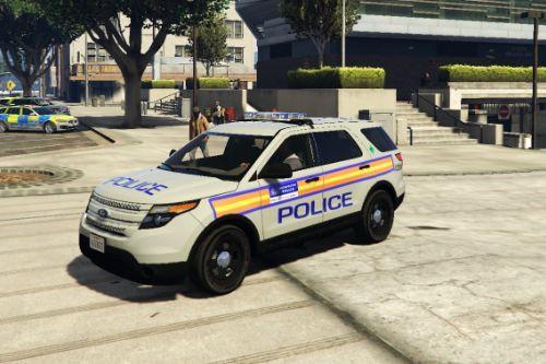 "Metropolitan Police ""Jam Sandwich"" Ford Explorer"