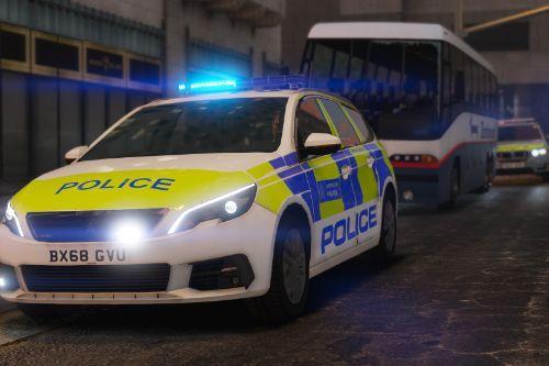 Metropolitan Police Peugeot 308 Pack