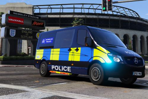 Metropolitan Police Sprinter Skin