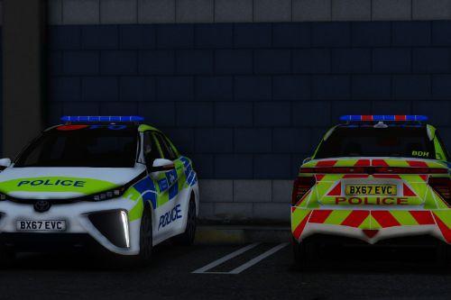 Metropolitan Police Toyota Mirai 2017 [ELS]