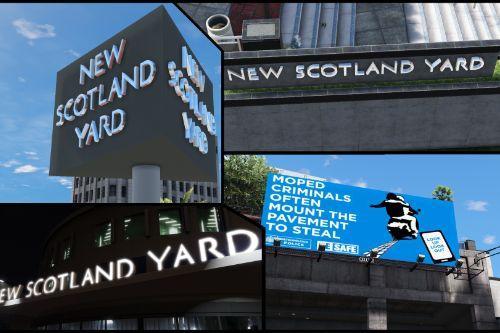 London Metropolitan Police - Vespucci Police New Scotland Yard