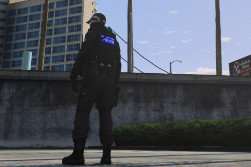Metropolitan Police Vest (EUP vest)