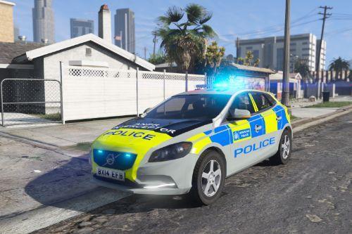Metropolitan Police Volvo V40 Area Car