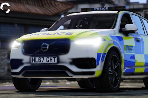 Metropolitan Police Volvo XC90 [Reskin] [Fictional]