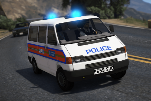 Metropolitan Police VW T4 Officer Carrier