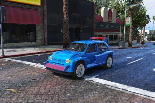 MG Metro 6r4 Clubman 1986 [Add-On / Replace | Tuning | Template]