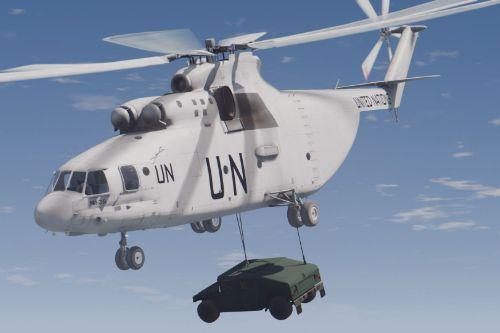 "Mi-26 Halo ""United Nations"" [Add-On]"