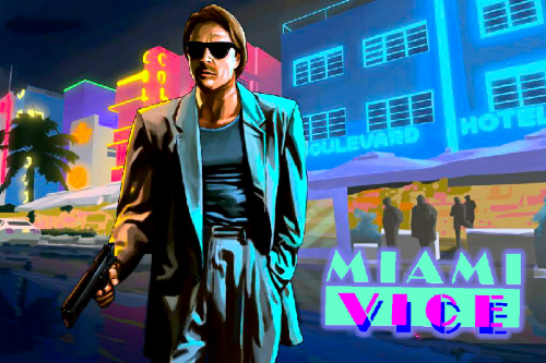 Miami Vice Loading Screens