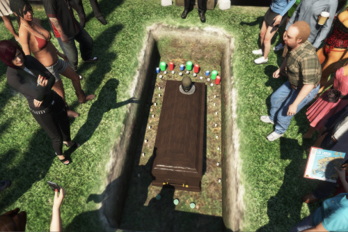 Michael's Funeral