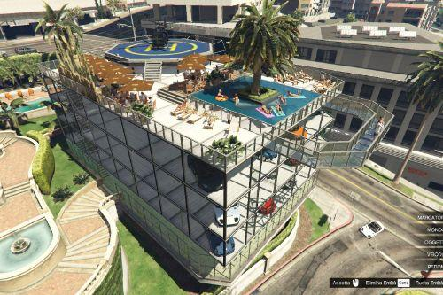 Michael's Garage 2 + Party Terrace [Map Editor / SPG]