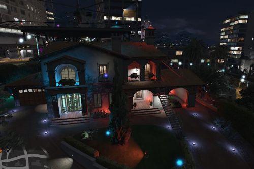 Michael's LightHouse + Heli with pad + Lambo & Rolls Royce