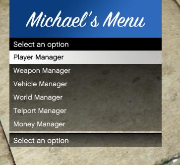 Michael's ModMenu