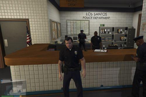 Michael Short Sleeve LSPD Uniform
