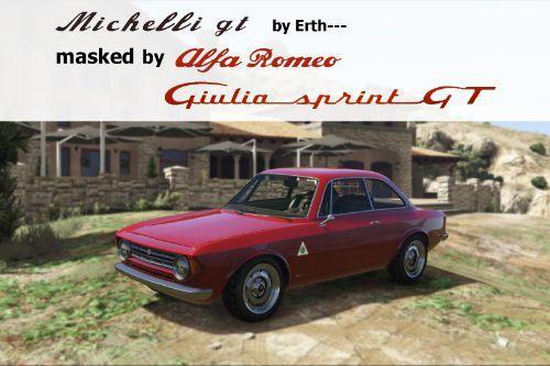 Michelli GT masked by Alfa Romeo Giulia Sprint GT