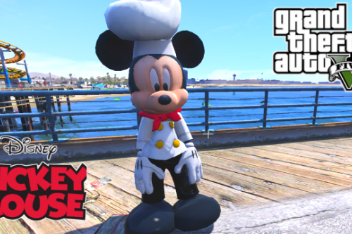 Mickey Mouse The Chef  [Add-On Ped]