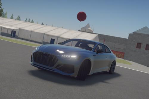 MID-DRIFT HANDLING Audi RS5 2021 [AUDIO FIX]
