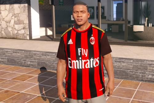Milan 2013/14 Home Kit (For Franklin)