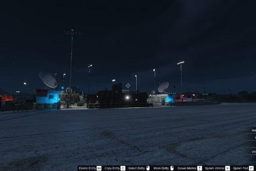 Military Base at Trevor's Airfield