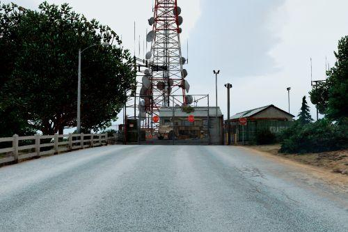 Military Checkpoint VineWood Radio Tower Zombie Apocalypse (Map Editor)