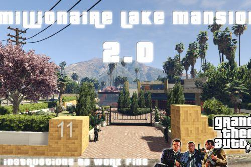 Millionaire Lake Mansion