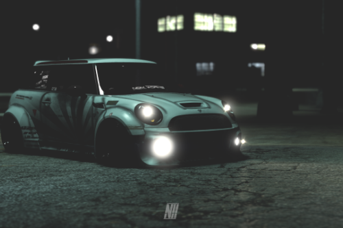 Mini Cooper R56 GP Liberty Walk [Add-On | Extras | Template]